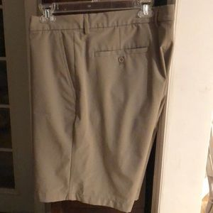 Greg Norman Khaki/Tan Shorts